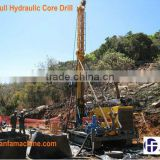 Professional wireline coring ~ HF-6 mining core drill rig for taking rock samples