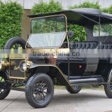 Reliable quality elegant shape 4 wheel 5KW classic mini model T golf car