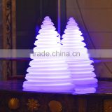 Christmas ornaments LED glowing tower lamp led Christmas tree decorations USB rechargeable used indoor/outdoor