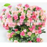 GNW FLV08 Silk Rose Bush Flower Latest Wedding Decoration Cheap Artificial Flower
