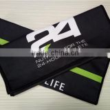 Microfiber Antibacterial, Quick Dry Custom Printed Sweat Absorbing Sports Towel Gym Towel