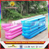 Factory Price New Mini Inflatable Air Track Inflatable Gymnastic Tumble Track Air Beam Balance Mat