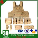 Multi-function 600D Oxford Polyester military molle tactical assault vest police molle vest