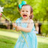 2014 Newest Baby Girl Dresses 100 Cotton Fabric Maix Dresses Kids Clothes Posh Petti Dress