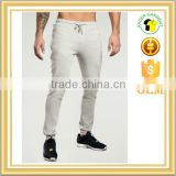 Custom Mens 100% Cotton Colored Skinny Slim Fit Soft Hand Feel Joggers Embroidery Sweatpant