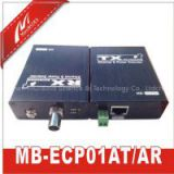 1-CH Long Distance Ethernet&Power Extender Over Coax