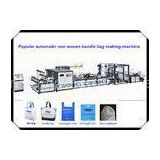 New Design Non Woven Fabric Bag Making Machine / Cloth Carrier Shopping Bag Making Machine