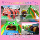 Sale Worm inflatable obstacle tunnel for kids