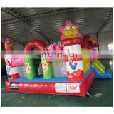 2017 latest cheap inflatable funland / mini carton fun city inflatable equipment