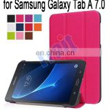 Tri-fold Leather Case Cover for Samsung Galaxy Tab A 7.0 T280 T285 Wholesale