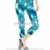2014 high waisted band green blue sky galaxy leggings Yoga Hot Pants sublimation printing jumpsuit treggings jeggings leggins