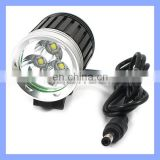 37mm Diameter 3 Cree LED Light Bike with 3600 Lumens