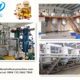 1-10tpd batch type small scale edible oil refinery machine for sale, manufactured in China