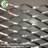 Small hole durable expanded aluminum mesh for curtain wall