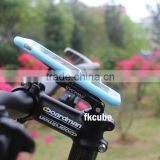 Hot sale niversal bike/bicycle/motorcycle mobile phone holder easy install on smartphone and GPS