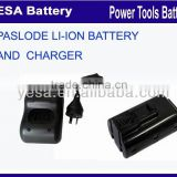 hot sale battery and charger for Paslode 902600,902654,B20543A 7.4V li-ion battery and charger                                                                         Quality Choice