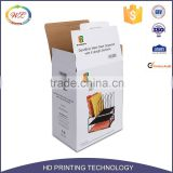 Chinese Supplier Color Printing Corrugated Carton Package Cardboard Paper Small White Boxes