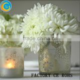 Frosted Glass Vase /Glass Votive Holders /Glass Container For Wedding Decoration