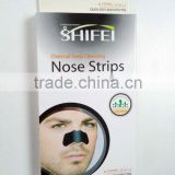 New SHIFEI series Charcoal Men Pore Blackhead Deep Cleaning Nose strips