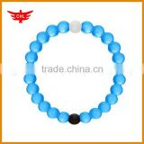 Beautiful silicone transparent bead wristband for women                                                                         Quality Choice
