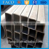 Tianjin square rectangular pipe ! hollow steel beam en10219 square steel pipe buildings materials