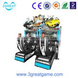 Indoor simulator driving simulator machine