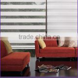 QINGMIAO Brand Horizontal Pattern and Polyester Material Plain Color Zebra Blinds Fabric
