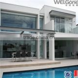 Morden design exterior glass wall
