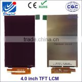 Hot products 4.0 inch tft lcd module display with Portrait type 480*800, custom mobile phone lcd screen