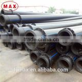 ISO4427/ASTM standard plastic PE100 HDPE pipe weight prices