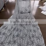 100% polyester burn out curtain made in china shaoxing