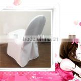 air layer fabric chair cover/thickness heavey fabric chair cover /hotel banquet seat cover