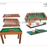 Hot sale 9in1 Multifunction Game Table size:137.5x73x88cm