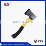 Fireman axes with handle for camping, fire, splitting