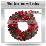 Guaranteed quality proper price christmas ball wreath