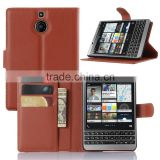 Bonster Wallet Leather Flip Cover Mobile Phone Case for Blackberry Z3