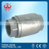 Stainless steel spring loaded check valve/vertical swing check valve we are wholesaler welcome field investigation