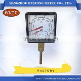 Well quality best price water pipe temperature gauge