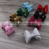 Bling Bling Fabric Bow,Glitter Bow For Shoes,Christmas Bow For Headband