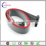 20 pin 1.27mm ul2651 28awg flat ribbon cable