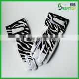 fashion Zebra-stripe custom baseball batting gloves