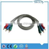 Lianfali fine quality HD video cable 3RCA TO 3RCA durable AV cable highly flexible av cable