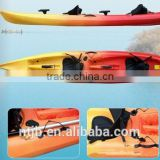 hot sale double plastic canoeing for fishing