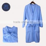 BLUE 100% COTTON TURKISH BATHROBES