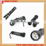 Aluminium alloy lithium battery LED flash light
