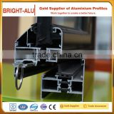 High strength thermal break aluminium heat insulation extruded aluminum sliding windows profile