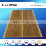 building materials supplies interior wood partition wall ceiling tile clips pvc panel ceiling for interior decor