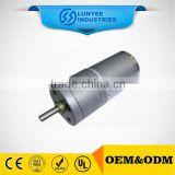 12V 24V 1-1600rpm 37mm micro DC gear motor for electric car jack                                                                         Quality Choice