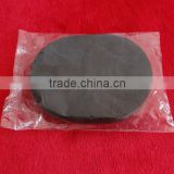black PVA face sponge , oval PVA facial sponge , black color