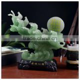 Resin Jade Chinese luckly horse ,Fengshui Horse ,Money horse